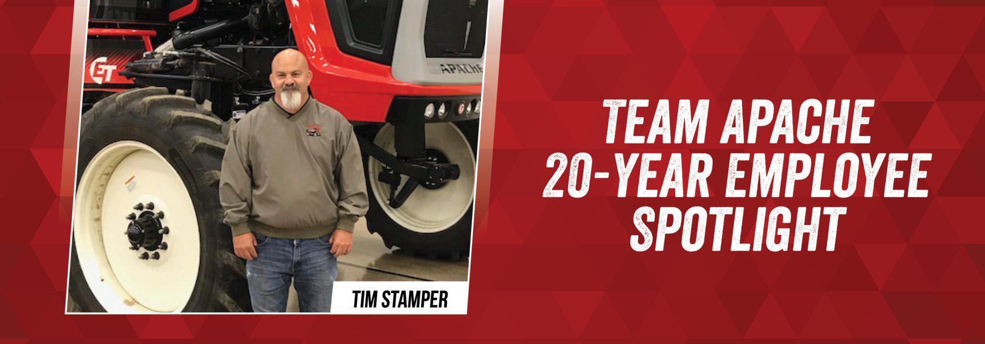 Team Apache - Tim Stamper 20-year journey