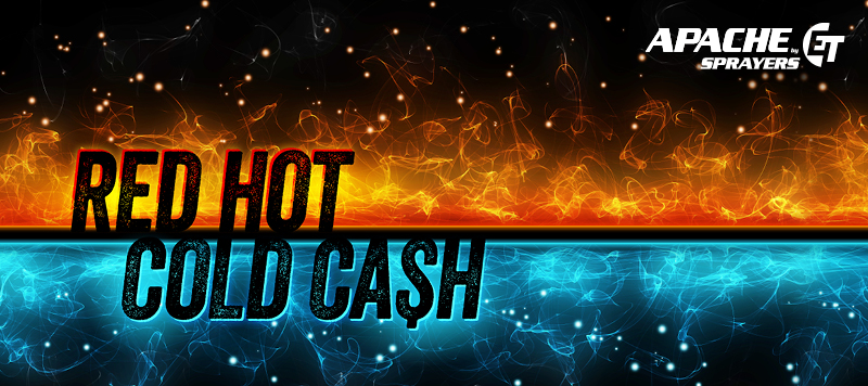 Red Hot, Cold Cash $5,000 Savings Event