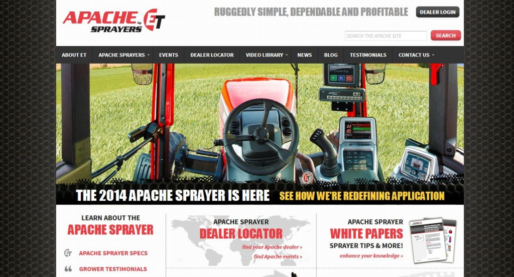ETsprayers.com home page
