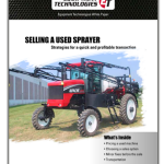 used sprayer white paper image