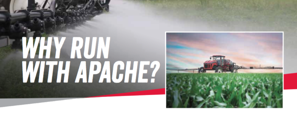 Apache Sprayers Compare Application Methods