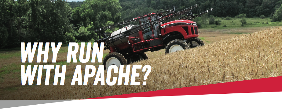 Apache Sprayers warranty policy 2017 header image