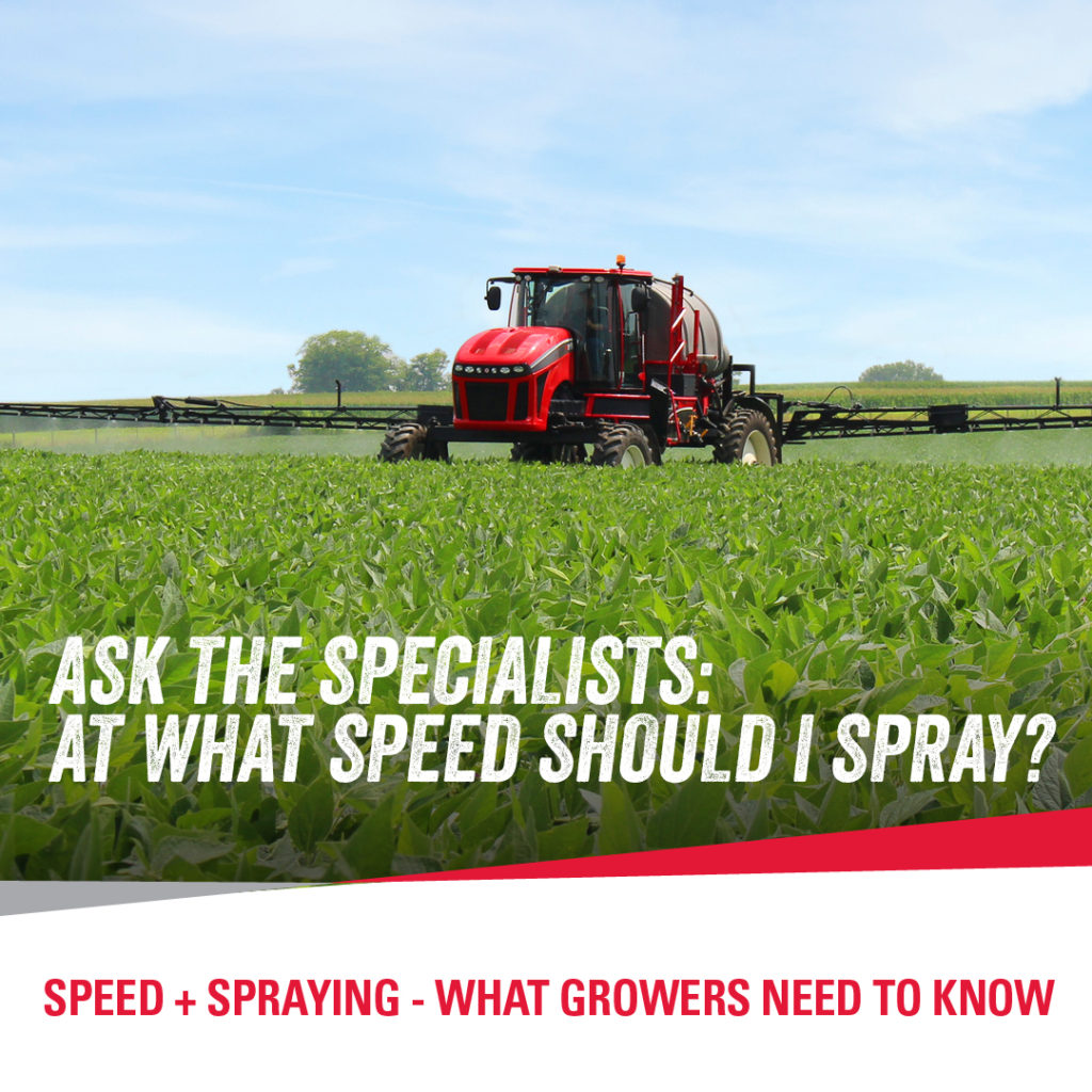 Apache Sprayers Spray Speed
