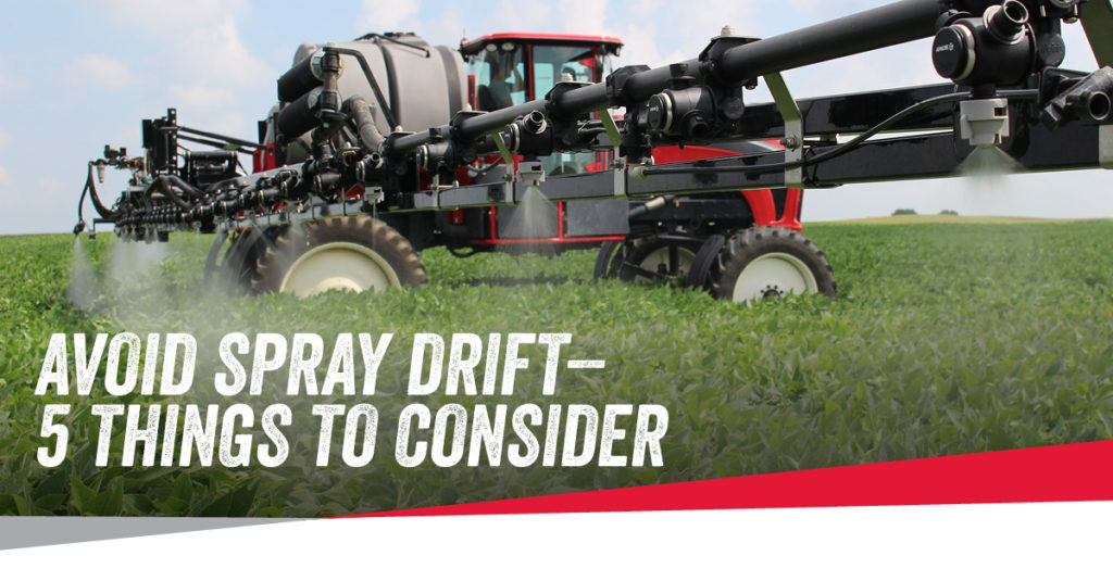 Apache Sprayers Avoid Spray Drift