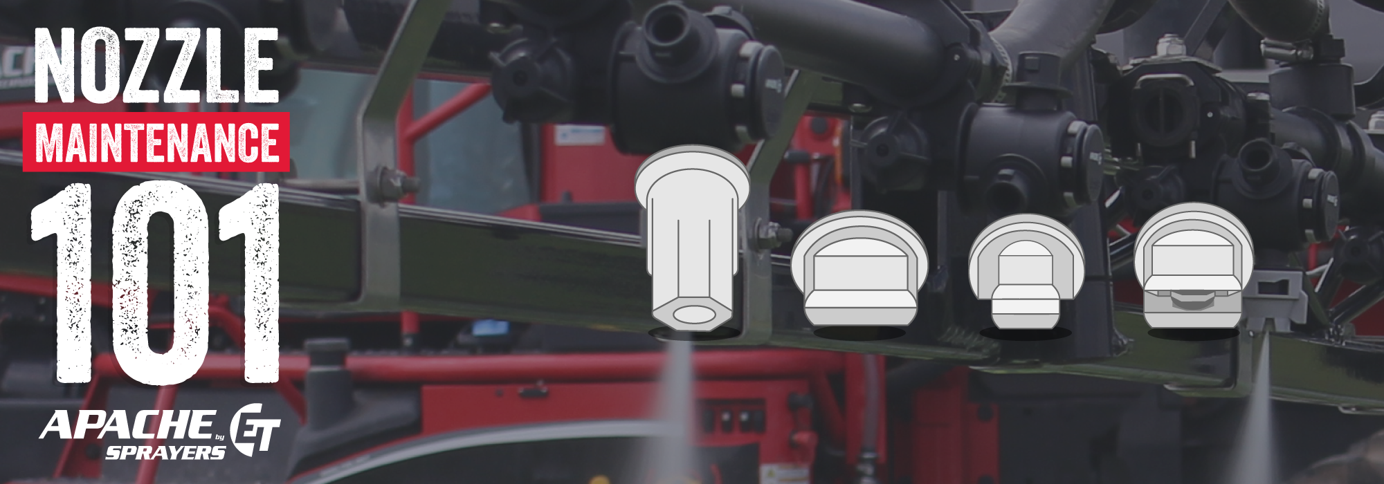 Solutions To Sprayer Nozzle Issues Before You Have Them Apache Sprayers Self Propelled Ag Sprayers