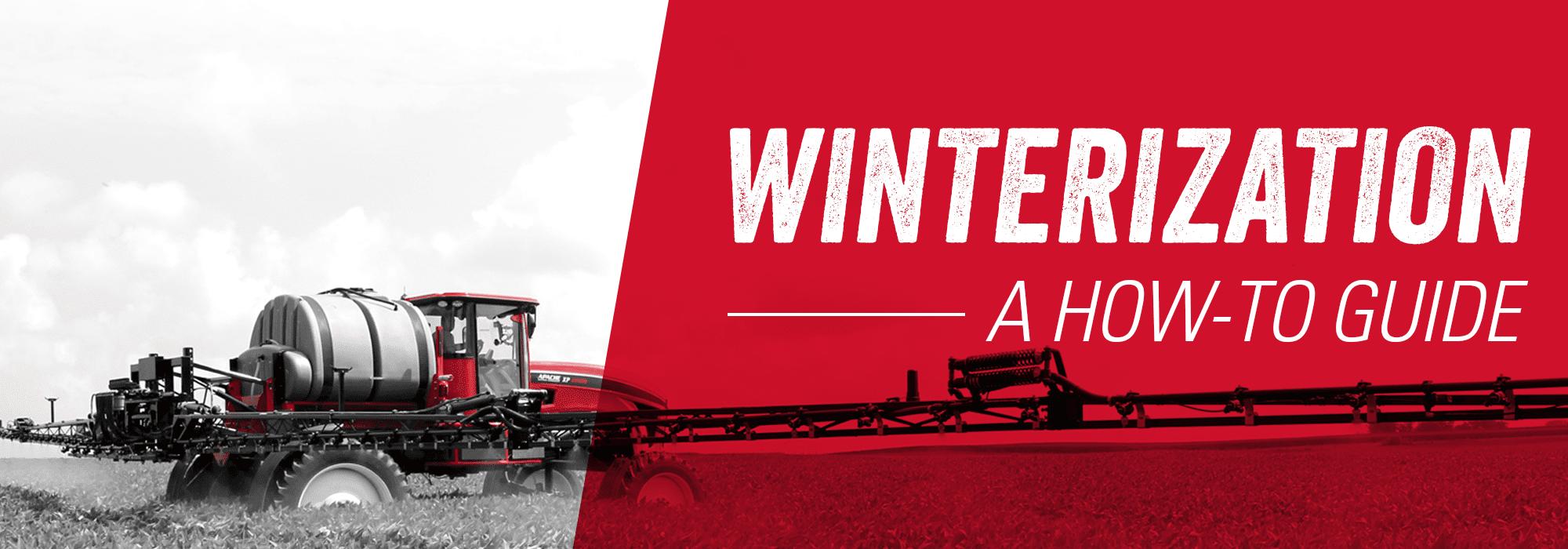 Apache Sprayers Winterization A How-To Guide Header