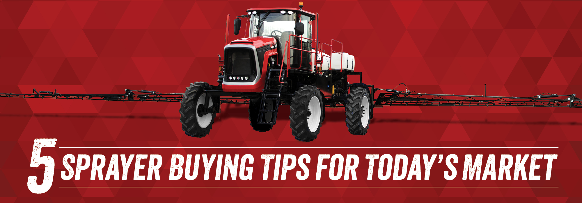 5 Sprayer Buying Tips for Today's Market