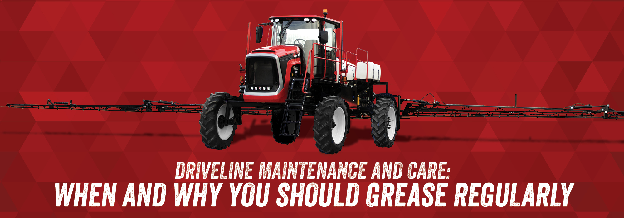 Blog Apache Sprayers Self Propelled Ag Best Method For Controlling How A Motor Stops Maximizes Machine Follow Regular Driveline Maintenance Schedules To Maximize Sprayer Performance