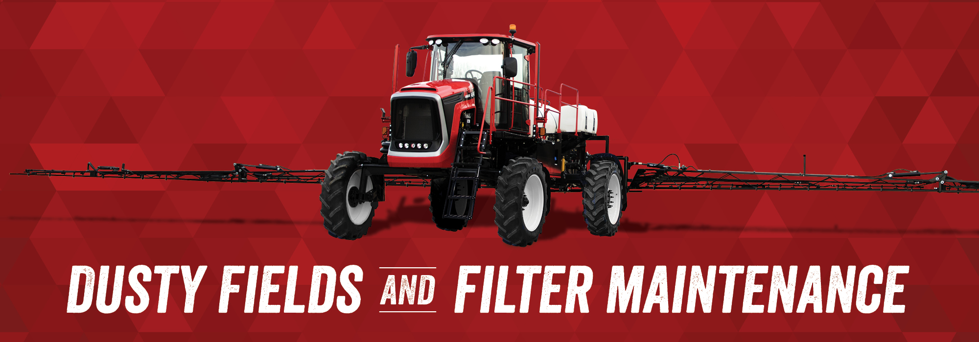 Dusty Fields and Filter Maintenance