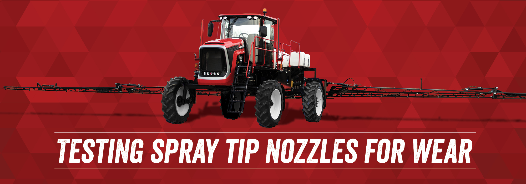 Testing Spray Tip Nozzles for Wear