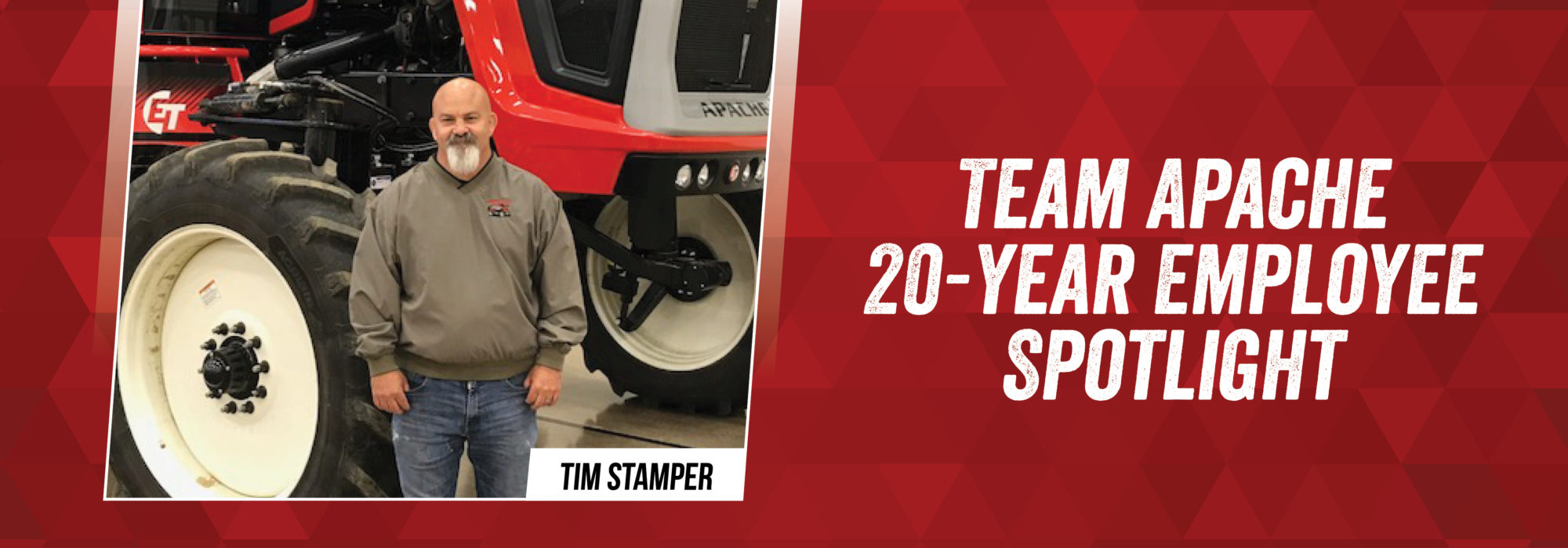 Team Apache - Tim Stamper 20-year journey