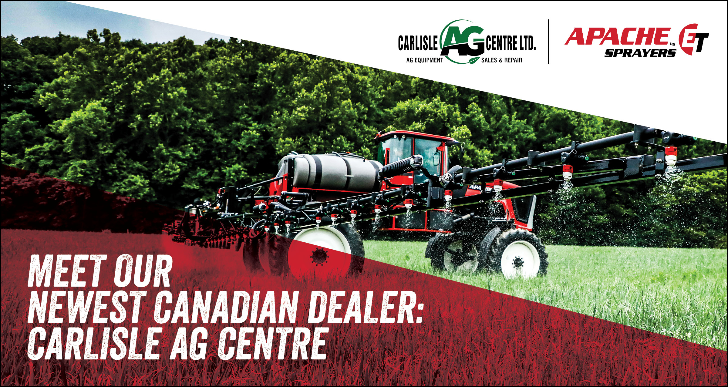 New Apache Dealer - Carlisle Ag Centre