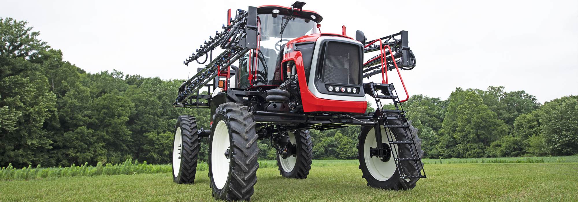 The AS640 sprayer